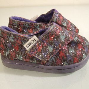 Toms Baby Shoes Size T3 Classic Multi Color